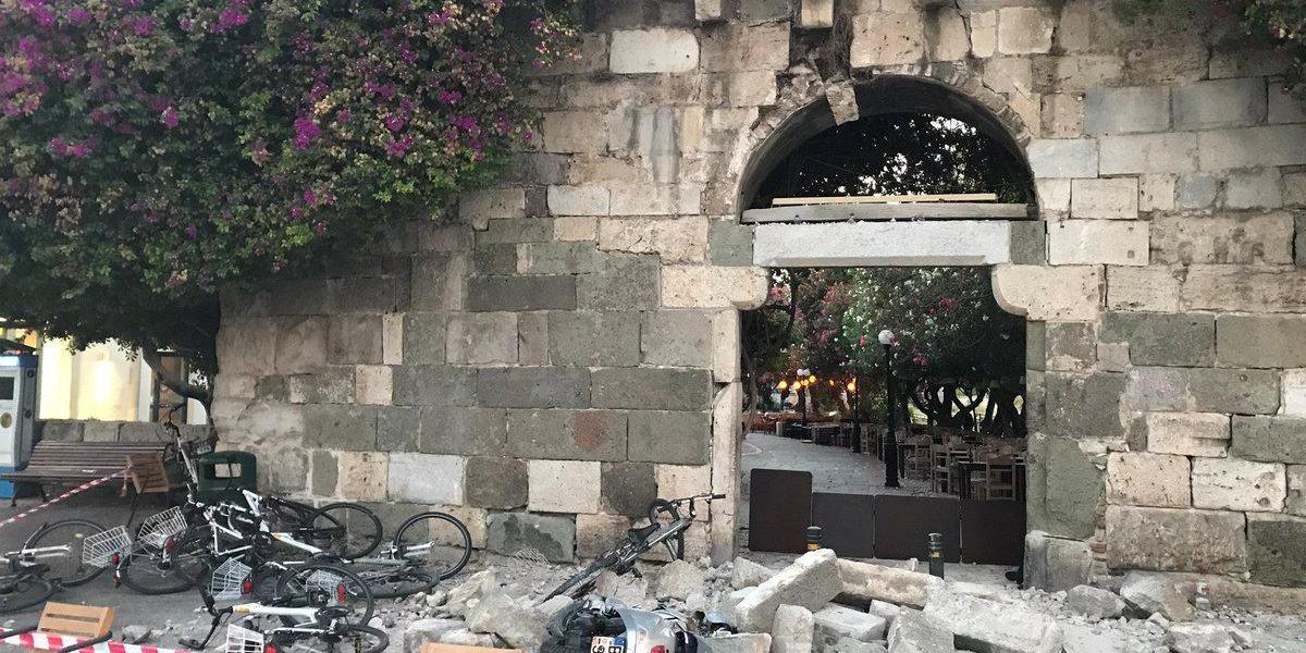 Землетрясение в Турции 2017